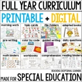 Full Year Bundle of Resources for Special Education