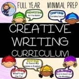 Full Year Creative Writing Curriculum - Distance Learning!