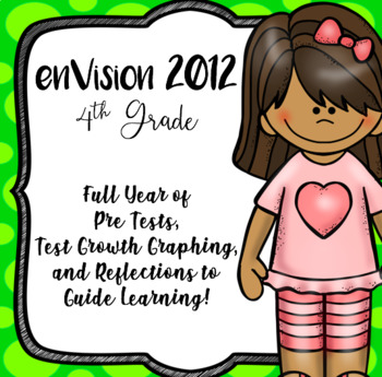 EnVision 2012 CCSS 4th, Full Year of Pretests, Progress Monitoring, Reflections