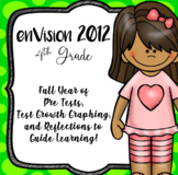 EnVision 2012 CCSS 4th, Full Year of Pretests, Progress Mo
