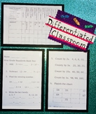 Full Year First Grade Math Common Core Standards Assessment