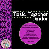 General Music Curriculum & Lesson Plans