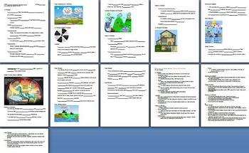 Full Year Health Curriculum Lesson Plans - PowerPoints & Note Outlines