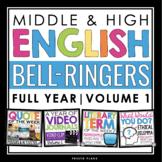 ENGLISH BELL RINGERS - VOL 1