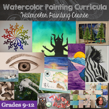 High School Painting Curriculum - 2D Watercolor & Acrylic Painting Course