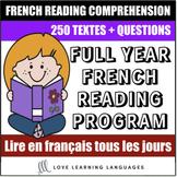 Full-Year French Reading Program - PRE-ORDER FOR 2019-2020