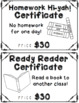 Full Year Spelling Contract and Reward System - Editable