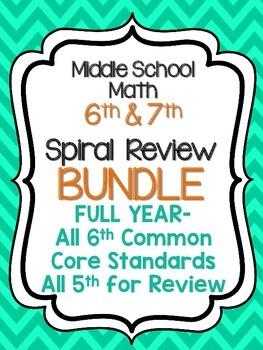 Full Year Spiral HW BUNDLE