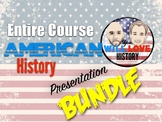 Full Year U.S. History Presentation Bundle