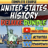 Full Year U.S. History Distance Learning Deluxe Bundle