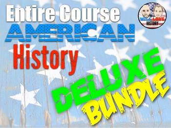 Full Year U.S. History Deluxe Bundle