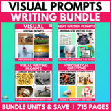 Full Year Visual Writing Prompts (Describing and Inferring