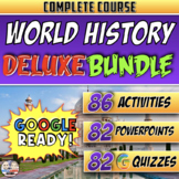 Full Year World History | Distance Learning | Deluxe Bundle