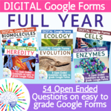 Full Year of Biology Exit Tickets / Warm Ups / Review Ques