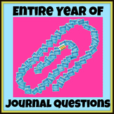 Full Year of Journal Questions/Daily Writing Prompts