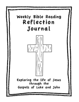 Full Year of Weekly Bible/Gospel Readings - Reflection Questions - Journal Pages