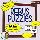 Full Year of Weekly Rebus Brainteaser Puzzles! Bell-Ringer
