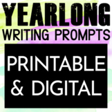 Writing Prompts for Middle School Bell Ringers Bundle