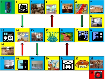 House Game boards power point version