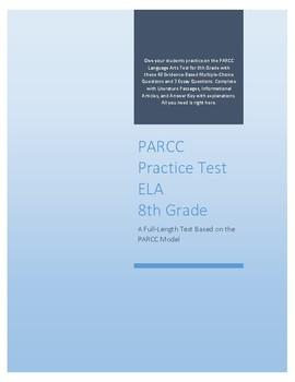 Full-length PARCC ELA Practice Test for 8th Grade
