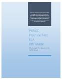 Full-length PARCC ELA Practice Test for 8th Grade Common C