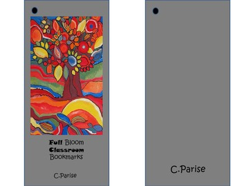 Full Bloom Bookmarks