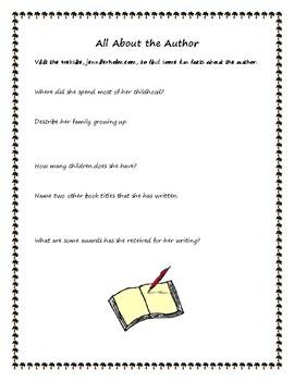 Full of Beans by Jennifer L. Holm - A Novel Study
