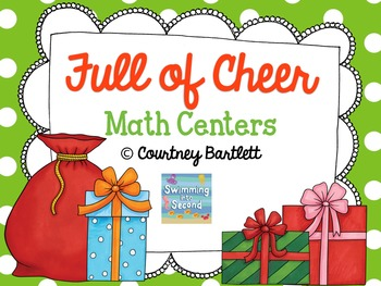Full of Cheer Math Centers