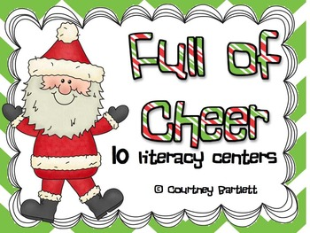Full of Cheer literacy centers