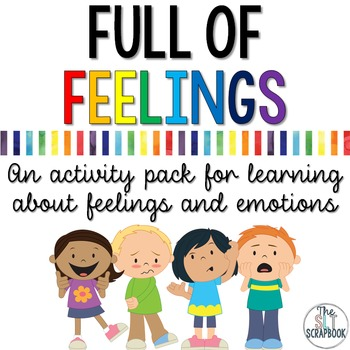 Understanding Emotions Worksheets and Activities Pack- Ful