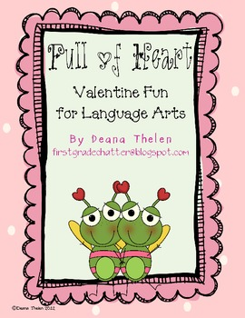 Full of Heart Language Arts Activities for the Common Core