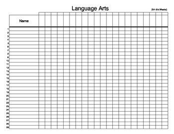 Full page gradebook