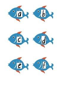 Phoneme and Sight Word Fishing Fun