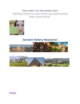 Full set of Unit plans bundle! Ancient World History! (Year long!)
