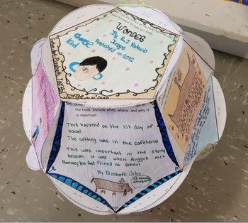 Full size Bloom Ball Book Report not editable