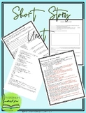Short story unit with guided notes and exam! Full week lesson-pacing calendar