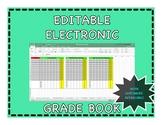 Fully *EDITABLE* Electronic Grade Book