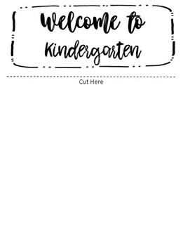 Fully Editable Flipbook for Back to School/Meet the Teacher