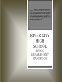 Fully Editable Music Department Handbook for High School Band and Orchestra