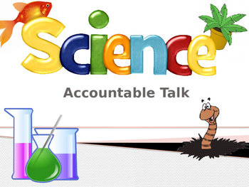 Fully Editable Science Accountable Talk Posters