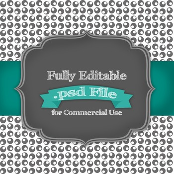 Fully Editable Space Circle Digital Paper .psd File for Co
