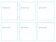 Fully Editable Task Card Template