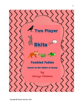 Fumbled Fables, based on the Tales of Aesop (Plays for Two)