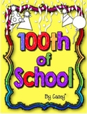 Fun 100th Day of School Activity Pack