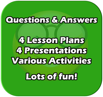 4 Lesson Unit - Bar Charts, Tally Charts, Pictograms, Questionnaires - EDITABLE