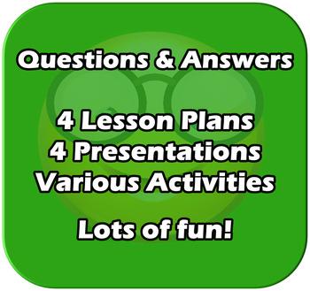 Fun 4 Lesson Unit - Bar Charts, Tally Charts, Pictograms,