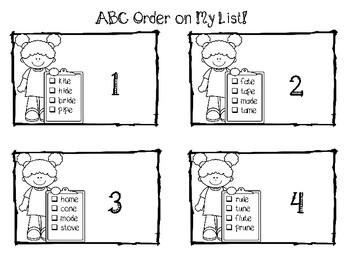 Fun ABC Order
