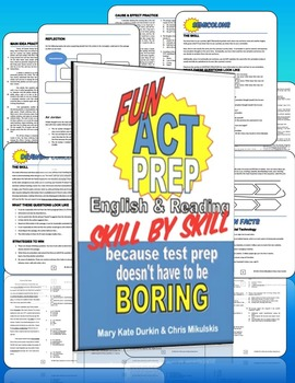 Fun ACT Prep: Skill by Skill 2nd Edition Workbooks- CLASS
