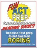 Fun ACT Reading Basics Assessment: Main Idea, Detail, and