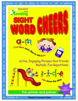 Active & Fun High Frequency Sight Word Cheers: Pre-primer & Primer Dolch Words